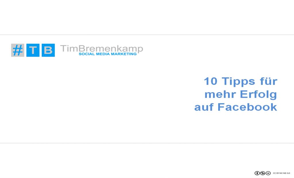 10 Tipps für mehr Erfolg auf Facebook_kostenlos