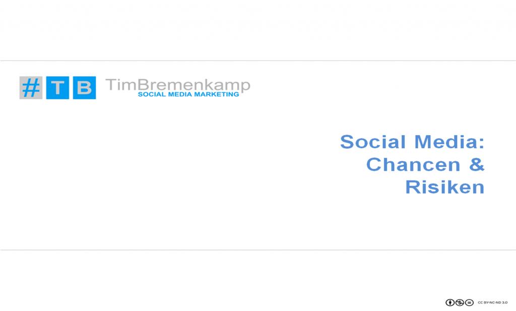Social Media: Chancen und Risiken